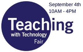 Teaching Fair Sept 4 2014