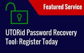 DYK- UTORid Password Recovery