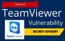 Teamviewer Vulnerability_Updated