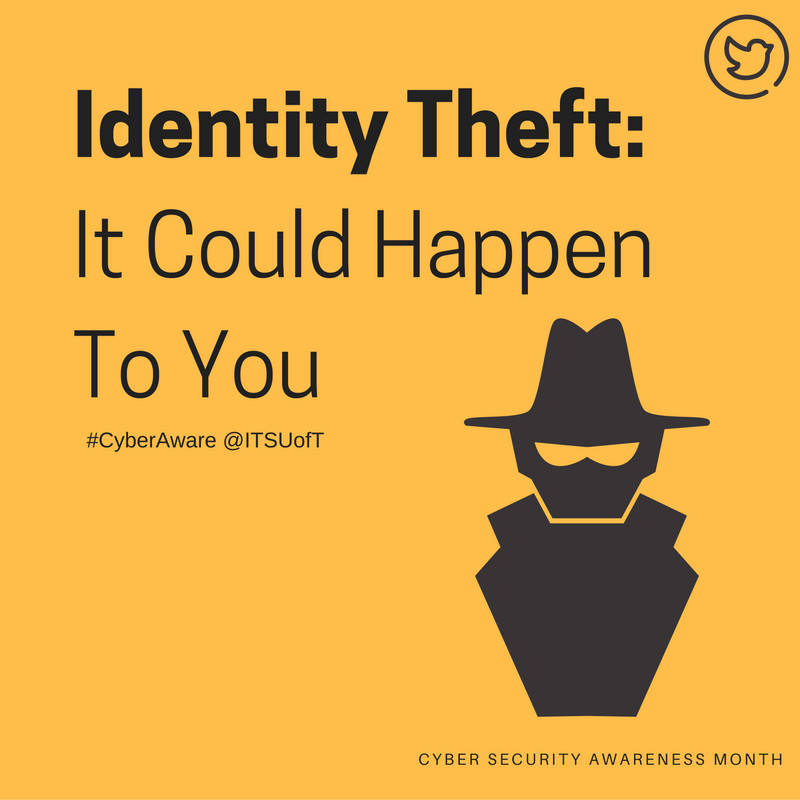 Identity Theft: It Could Happen To You