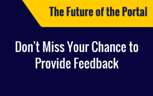 Portal Week - Provide Your Feedback