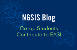 NGSIS Blog: Co-op students contribute to EASI