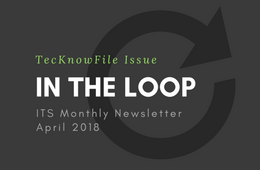 ITS - In the Loop Newsletter