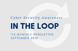 In the Loop - September 2018