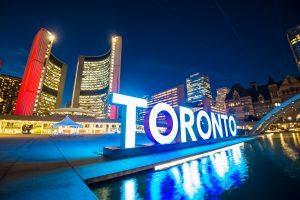 Toronto sign, Nathan Phillips Square